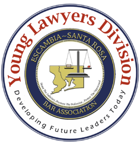 Escambia Santa Rosa Young Lawyers Bar Association logo