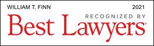 Finn 2021 Best Lawyers Badge