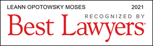 Moses 2021 Best Lawyers Badge