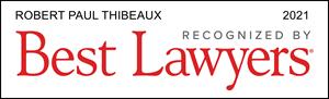 Thibeaux 2021 Best Lawyers Badge